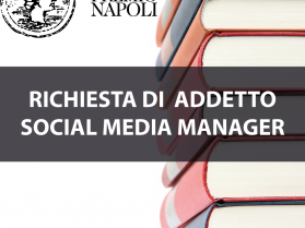 RICHIESTA ADDETTO SOCIAL MEDIA MANAGER 2020