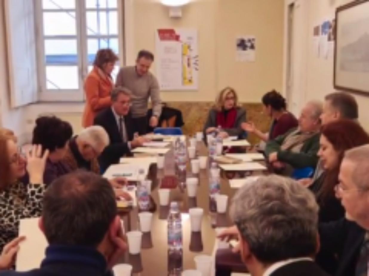 Premio Napoli 2015 – La prima riunione di giuria