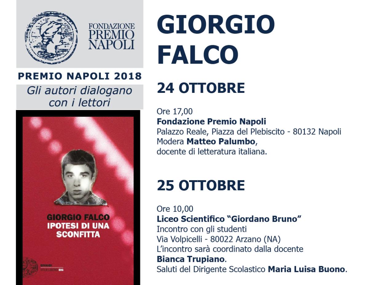 Giorgio Falco incontra i giudici lettori