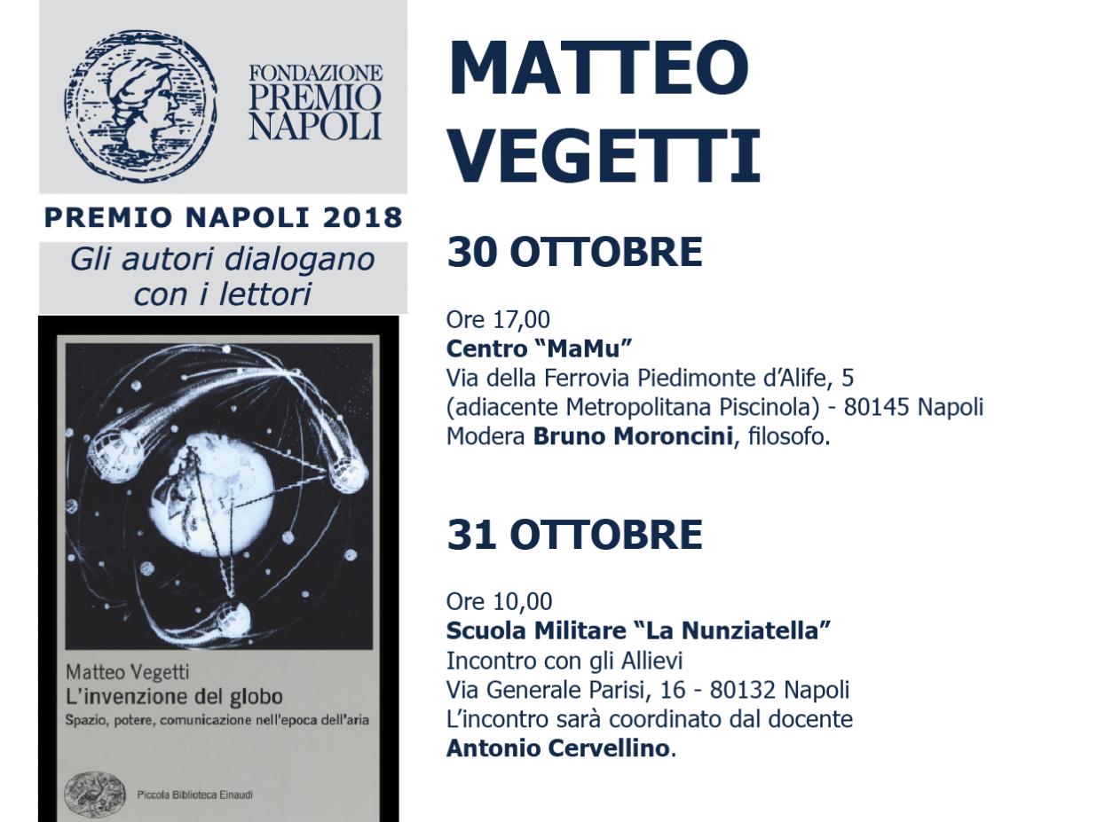 Matteo Vegetti incontra i giudici lettori
