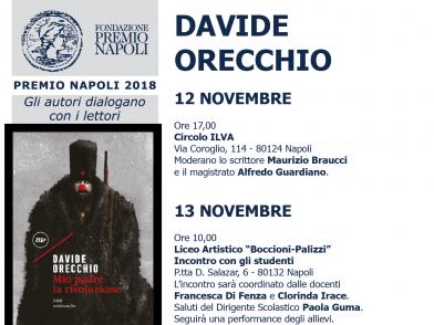 Davide Orecchio incontra i giudici lettori