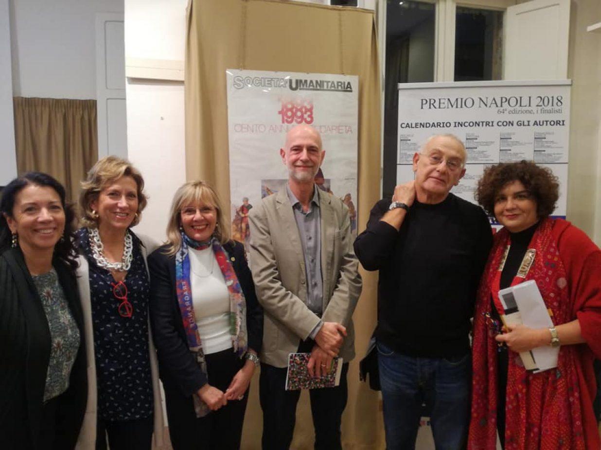 Mariano Bàino incontra i giudici lettori