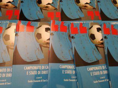 """Presentazione: """"Campionato di Calcio e Stato di Diritto"""""""