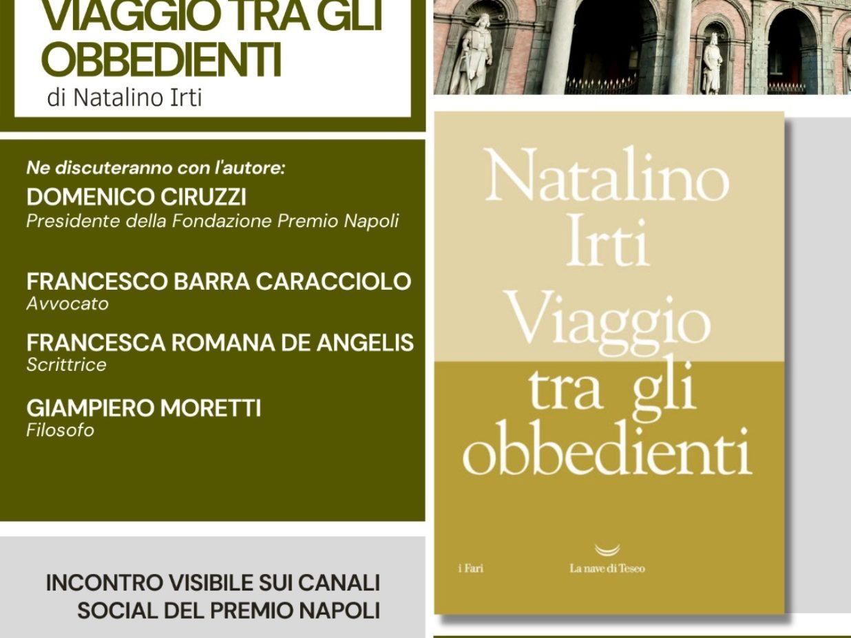 Presentazione del Libro Viaggio tra gli obbedienti di Natalino Irti – 18 Maggio ore 18:00 Live